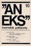Aneks - kwartalnik polityczny. Nr 10.