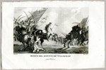 Morte Del Giovine Re' Wladislao - miedzioryt 1831