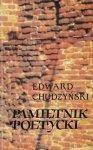 Chudzyński Edward - Pamiętnik poetycki