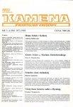 Kamena. Nr 3-4 (936-9370. 1992 [Bruno Schulz]