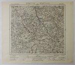Ponedele - mapa 1:100 000