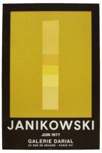 Plakat. JANIKOWSKI. 1977