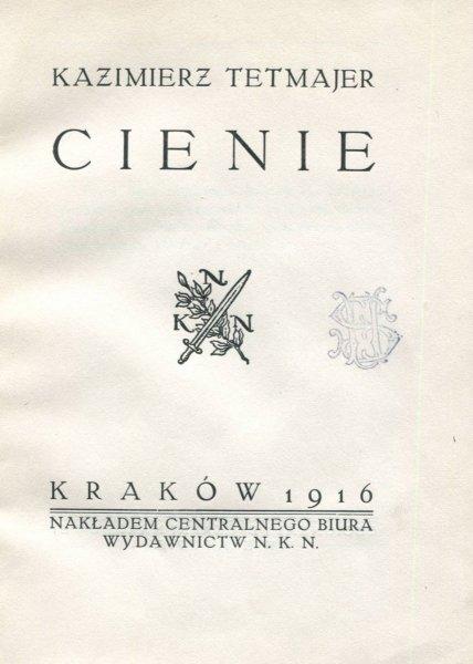 Tetmajer Kazimierz - Cienie.