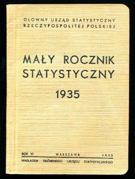 Mały rocznik statystyczny 1935