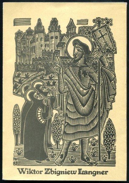 Biblioteka Narodowa. Wiktor Zbigniew Langner. Retrospektywna wystawa grafiki , katalog