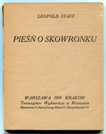 Staff Leopold - Pieśń o skowronku.
