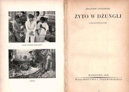 Uniłowski Zbigniew - Żyto w dżungli.