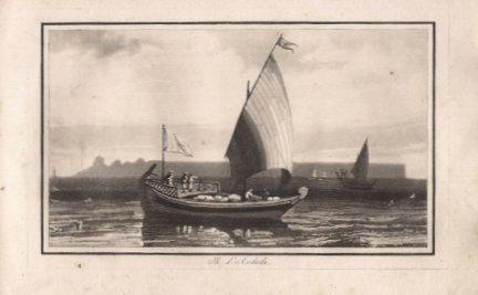 LEGRAND Jaset, LEGRAND Paul - Album amusant, ou receuil de gravures a l'aqua-tinta [...] accompagne d'un traite sur l'aquarelle et des explications des divers sujets de gravures. Paris 1822. Nepveu.
