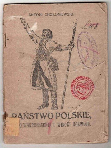 Chołoniewski Antoni - Państwo polskie, jego wskrzeszenie i widoki rozwoju