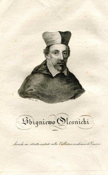 [Zbigniew Oleśnicki] Sbigniewo Olesnicki - miedzioryt 1831