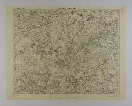 Lubochiny und Gołowno - mapa 1:75 000