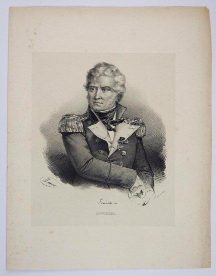 [POWSTANIE LISTOPADOWE] Sowinski [Sowiński] - portret - litografia [1832]