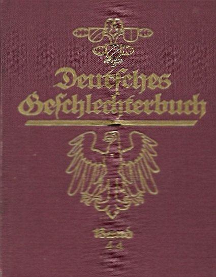 Koerner Bernhard - Deutsches Geschlechterbuch (Genealogisches Handbuch Bürgerlicher Falilien), hrsg. von ... Bd. 44. Mit Zeichnungen von Eduard Lorenz-Meyer.