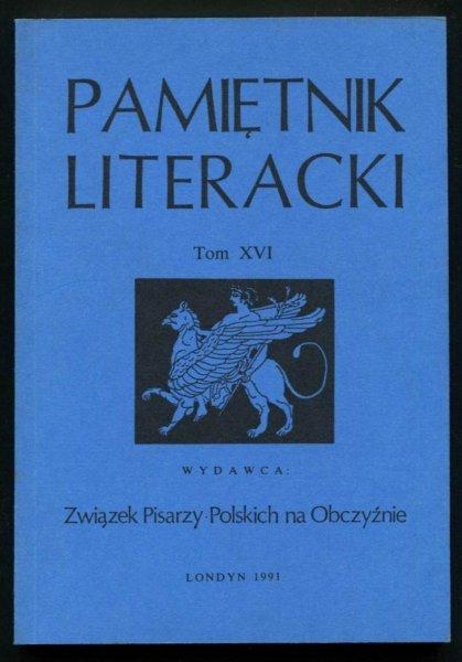 Pamiętnik Literacki. T. 16.