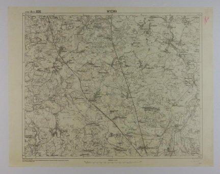 Wyżywa - mapa 1:75 000