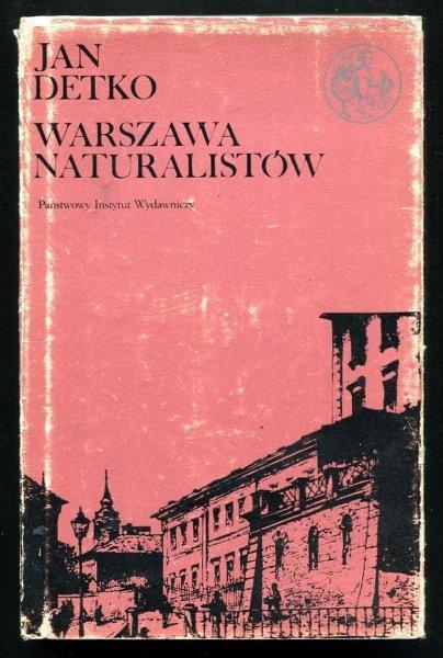 Detko Jan - Warszawa naturalistów