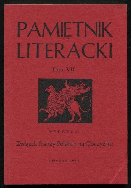 Pamiętnik Literacki. T. 7.