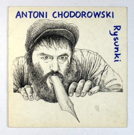 Muzeum Karykatury. Antoni Chodorowski. Rysunki. Warszawa, IV-VI 1989. [odręczna dedykacja artysty]