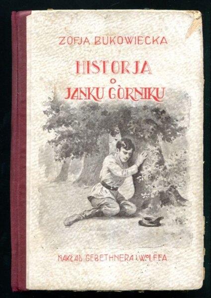 Bukowiecka Zofja - Historja o Janku Górniku. Opowiadania dla młodzieży. Wyd.VI. Z dziewięciu rycinami