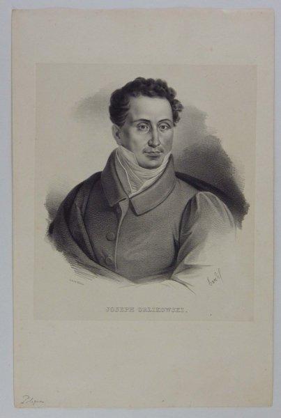 [POWSTANIE LISTOPADOWE] Józef Orlikowski - portret - litografia [1832]