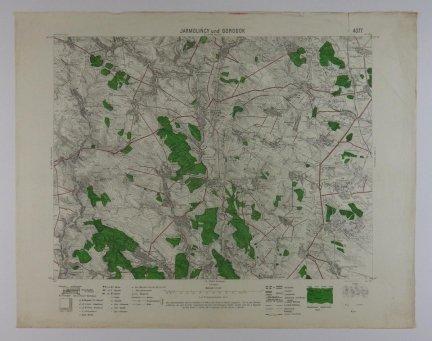 Jarmolińcy und Gorodok - mapa 1:75 000