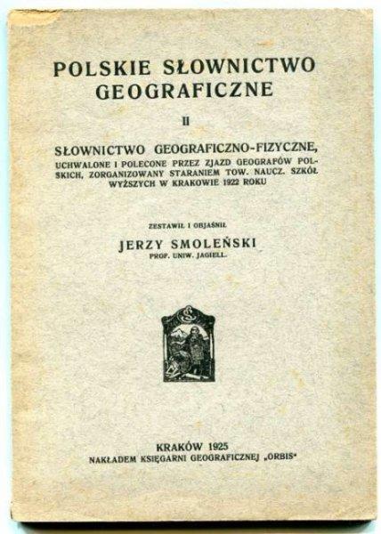 Smoleński Jerzy - Polskie słownictwo geograficzne