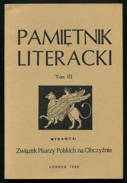 Pamiętnik Literacki. T. 3.