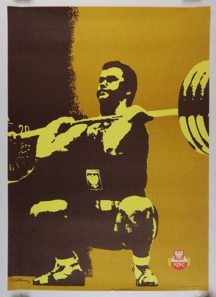 Niedźwiedzki St.- PZPC - plakat