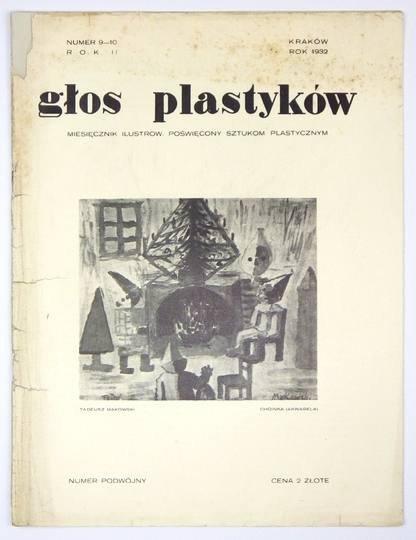 Głos Plastyków. R. 2, nr 9-10: 1932