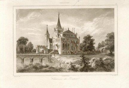 ZATOR. Chateau de Zator.