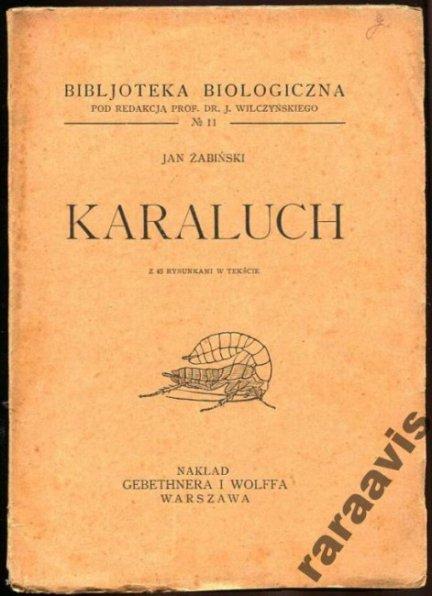Jan Żabiński - Jan Żabiński - Karaluch.