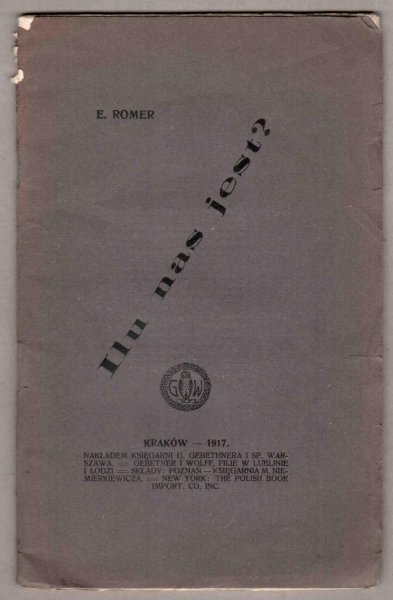 Romer Eugeniusz - Ilu nas jest?