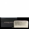 Skórzany Portfel Damski VITTORIA GOTTI Made in Italy Złoty