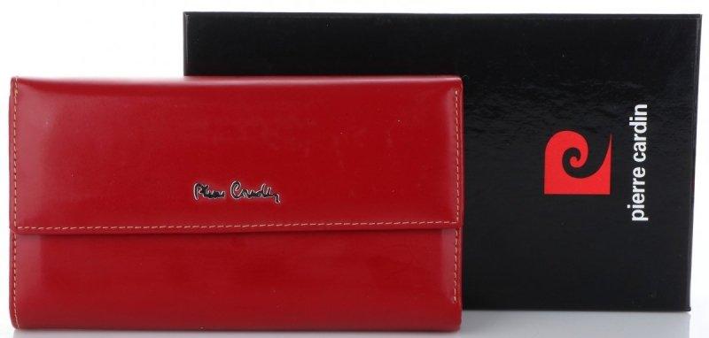 1093bac17b950 slide 2 of 5. Klasyczny portfel damski renomowanej firmy Pierre Cardin.