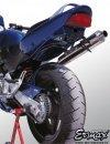 Mocowanie rejestracji + wypełnienie zadupka ERMAX UDT FENDER ELIMINATOR Honda CB 600 S HORNET 1998 - 2002