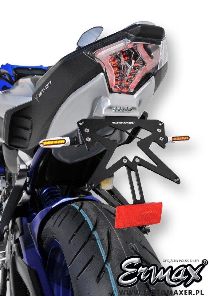Mocowanie rejestracji + wypełnienie zadupka ERMAX UDT FENDER ELIMINATOR 13 kolorów
