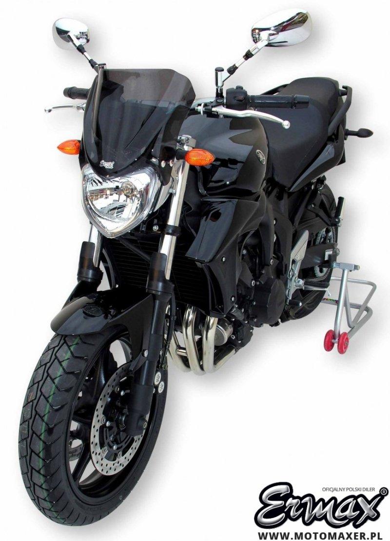 Szyba ERMAX NOSE 26 cm Yamaha FZ6-N / FZ6N S2 2007 - 2010