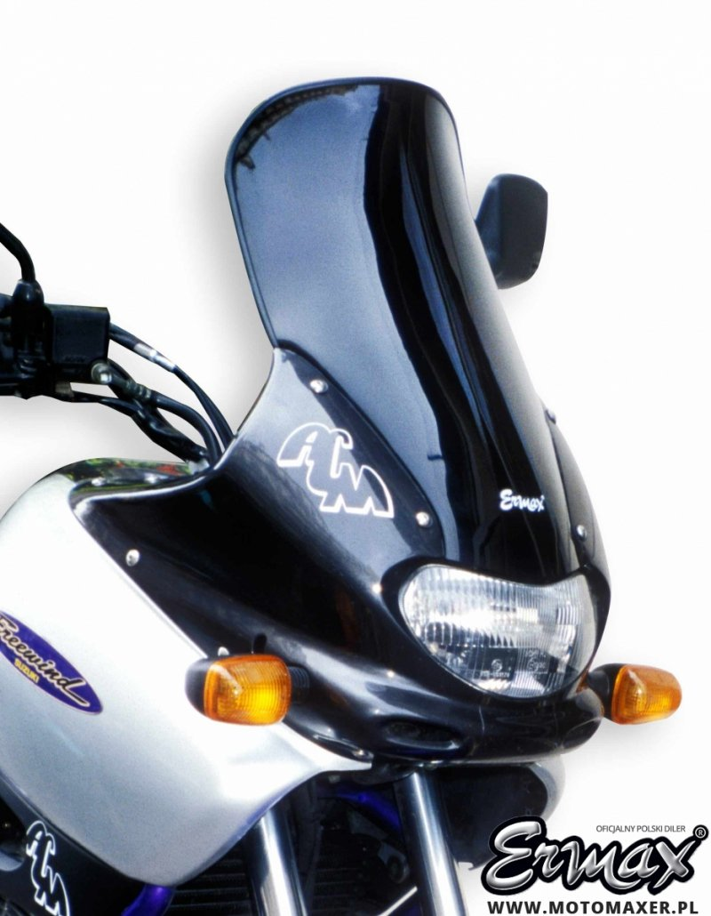 Szyba ERMAX HIGH + 15 cm Suzuki XF 650 Freewind 1997 - 1999