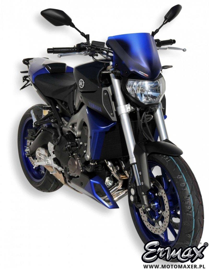 Pług owiewka spoiler silnika ERMAX BELLY PAN Yamaha MT-09 2014 - 2016