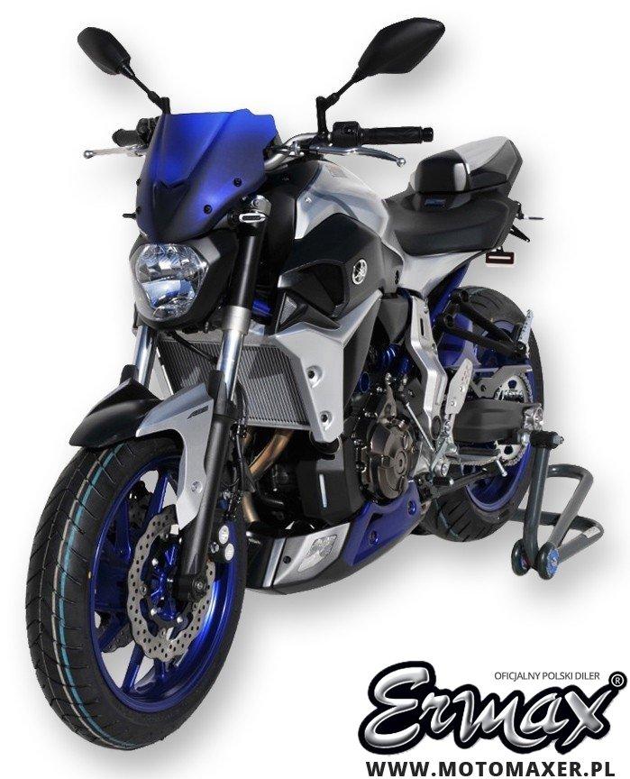Pług owiewka spoiler silnika ERMAX BELLY PAN Yamaha MT-07 2014 - 2017