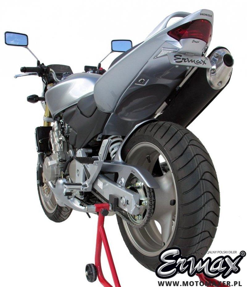 Mocowanie rejestracji + wypełnienie zadupka ERMAX UDT FENDER ELIMINATOR Honda CB600 HORNET 2003 - 2006
