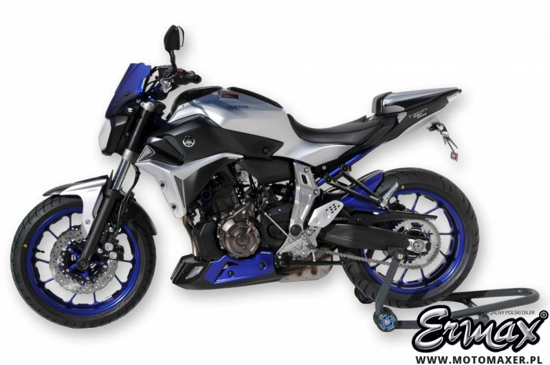 Wloty powietrza osłona chłodnicy AIR SCOOPS Yamaha MT-07 2014 - 2017