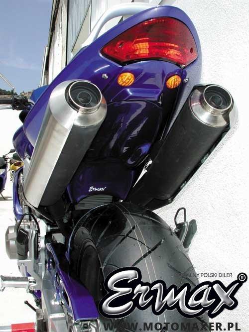 Mocowanie rejestracji + wypełnienie zadupka ERMAX UNDERTAIL Honda CB900F HORNET 2002 - 2007