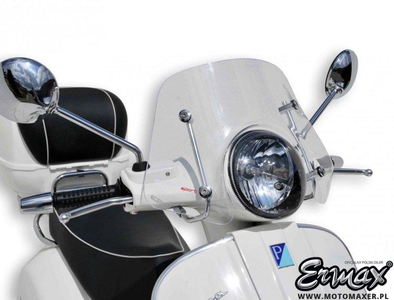 Szyba ERMAX SCOOTER PICCOLO 30 cm VESPA LX 50 / 125 / 250 ccm 2009 - 2019