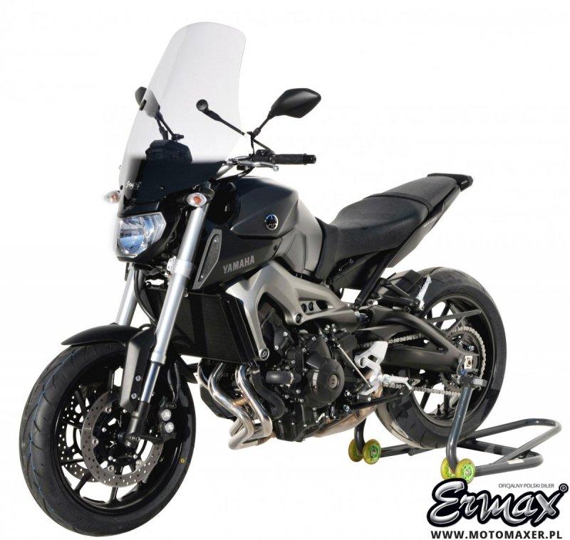 Szyba ERMAX TOURING 62 cm Yamaha MT-09 / FZ9 2014 - 2016