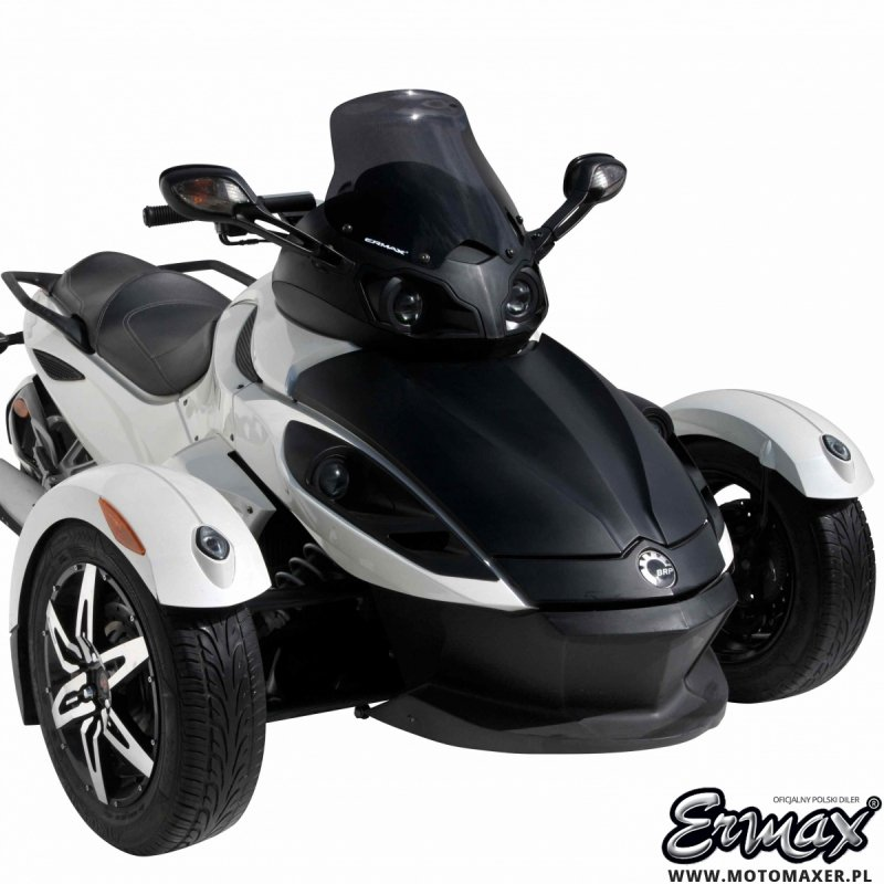 Szyba ERMAX HIGH CAM AM SPYDER RS / RSS 2008 - 2012