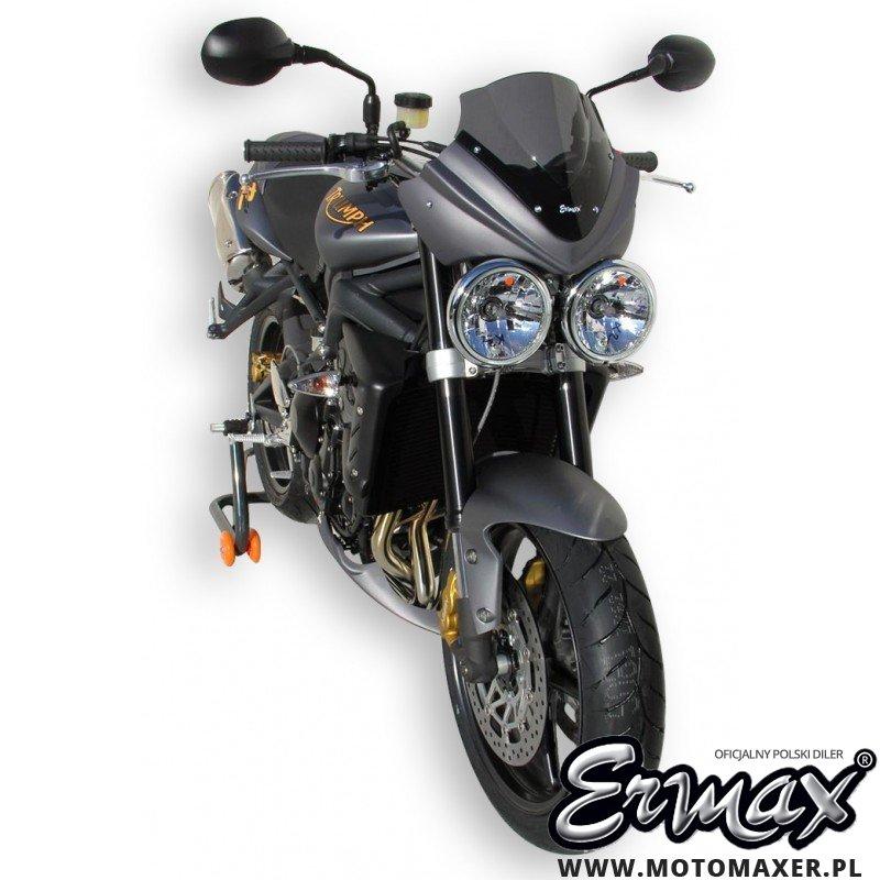 Pług owiewka spoiler silnika ERMAX BELLY PAN Triumph Street Triple 675 R 2009 - 2011