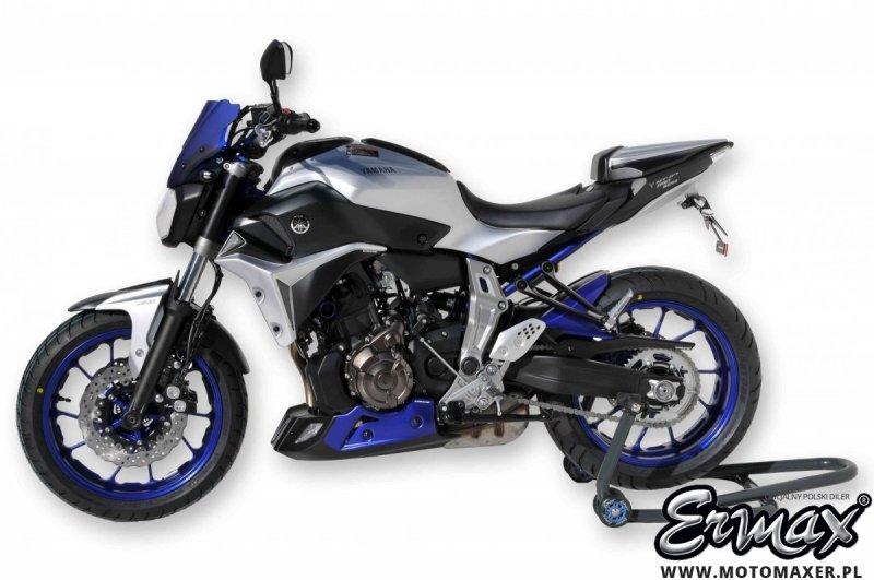 Błotnik tylny i osłona łańcucha ERMAX REAR HUGGER Yamaha MT-07 2014 - 2017