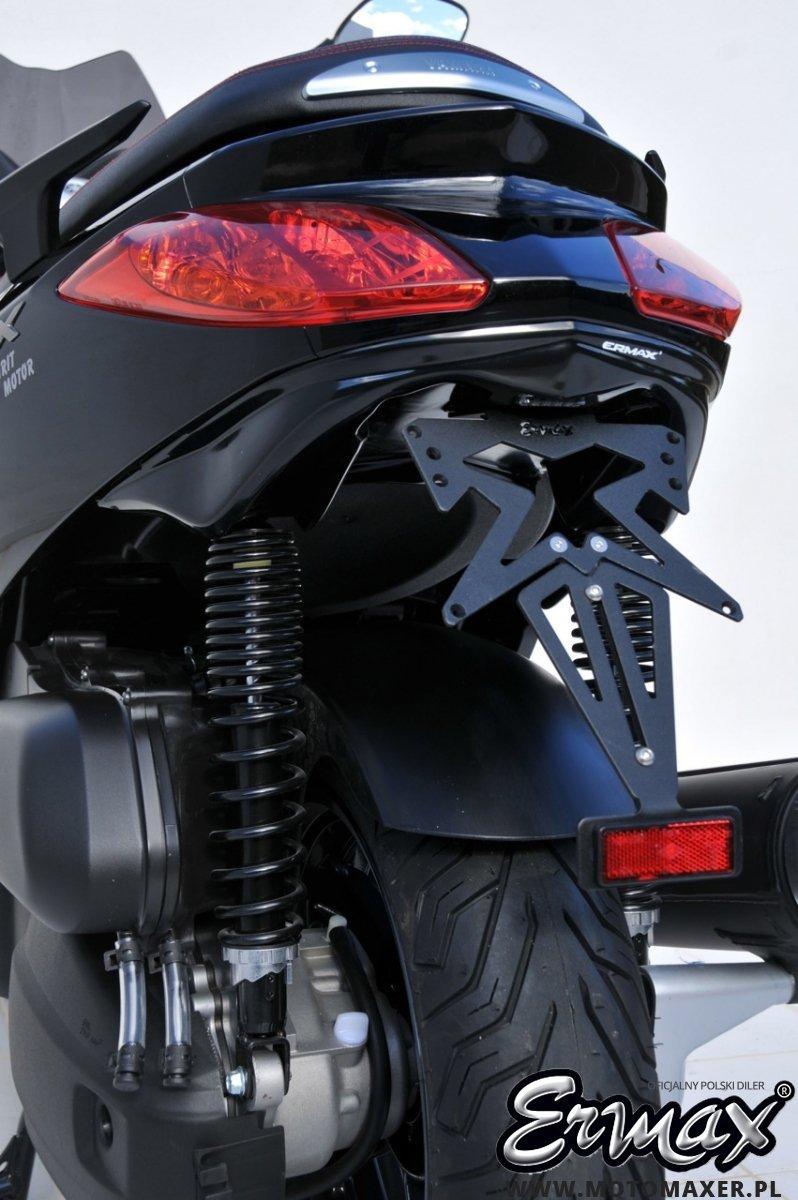 Mocowanie tablicy rejestracyjnej ERMAX UNDERTAIL Yamaha X-MAX 125 / 250 2010 - 2013
