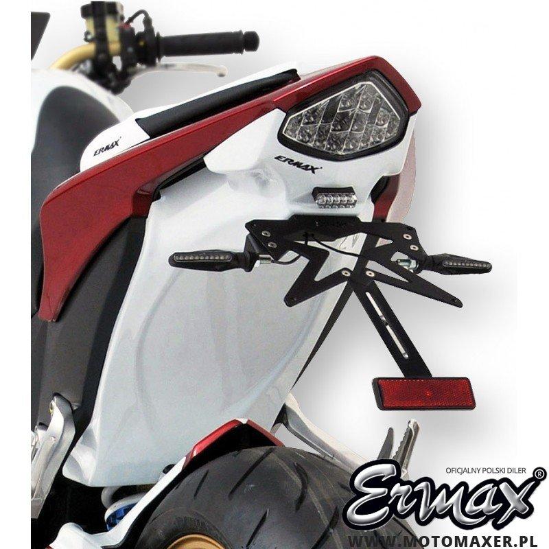 Mocowanie rejestracji + wypełnienie zadupka ERMAX UDT FENDER ELIMINATOR Honda CB1000R 2008 - 2017